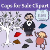 Caps for Sale Clipart