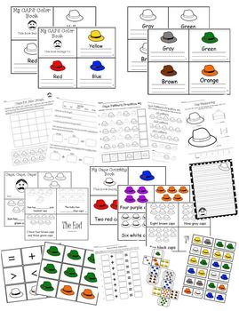 Caps for Sale Learning Activity Set Reading Math & Writing