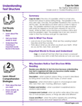Caps for Sale Lesson Plans & Activities Package, Second Grade (CCSS)