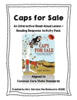 Caps for Sale Lesson + Reading Response Activity Pack