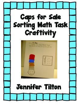 Caps for Sale Math Task Craftivity