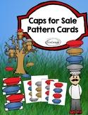 Caps for Sale Pattern Cards, File Folder Game, Pocket Chart game