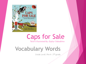 Caps for Sale Vocabulary Words