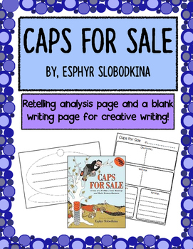 """Caps for Sale"" retelling activities"