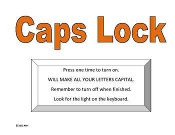 Caps lock vs. Shift key