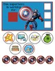 "Captain America Behavior Chart ""I am working for"""