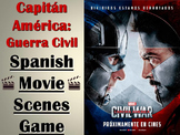 Captain America: Civil War - Spanish Movie Scenes Electronic Game