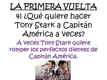 Captain America: Civil War - Spanish Movie Scenes Electronic Game