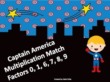 Captain America Multiplication