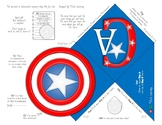 Captain America Page Corner Bookmark