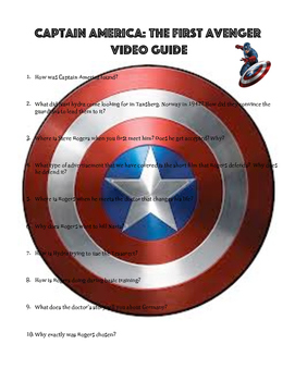 Captain America: The First Avenger Video Guide