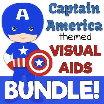 Captain America Visual Aids BUNDLE