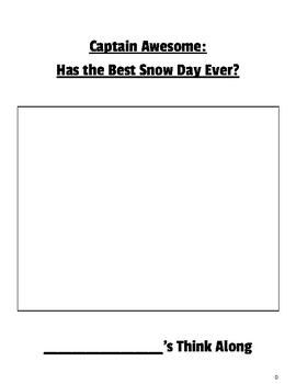 Captain Awesome has the Best Snow Day Ever? Think Along