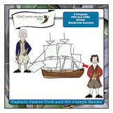 Captain Cook Clipart {Freebie}