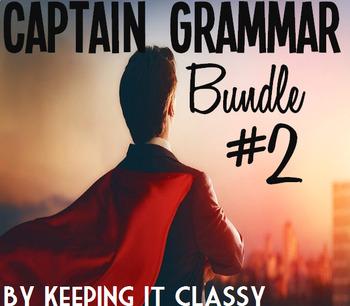 Captain Grammar Bundle #2: Four Readers' Theater Scripts and Prezis