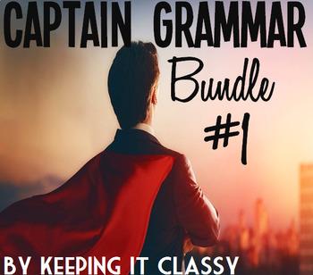 Captain Grammar Bundle #1: 4 Readers' Theaters, Prezis, and Activities