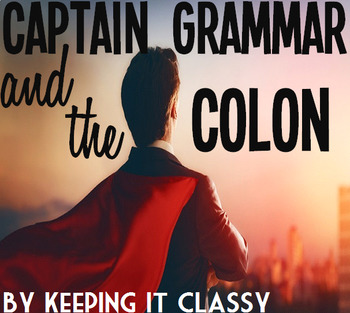 Captain Grammar and the Colon: A Readers' Theater and Prezi