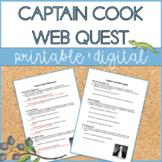 Captain James Cook | Web Quest | Distance Learning