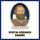 Captain John Smith Digital Research Banner
