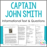 Captain John Smith & Jamestown Reading and Questions (VS.3)