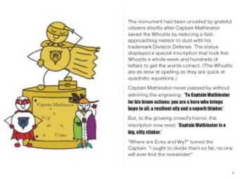 Captain Mathinator and the Mystery of the Modified Monument