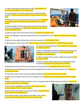 Captain Phillips Movie Guide & Key