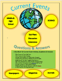 Current Events Science:10 Current Events Bundle: Articles,