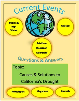 Current Events Science: Causes & Solutions to California's