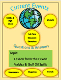 Current Events Science: Lesson from the Exxon Valdez & Gul
