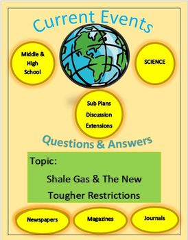 Current Events Science, Captain Planet:Shale Gas & The New Tougher Restrictions