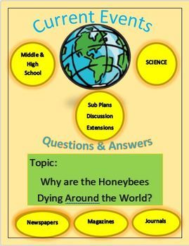 Current Events Science: Why are the Honeybees Dying Around the World?
