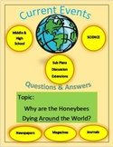 Science Current Events: Why are the Honeybees Dying Around the World?