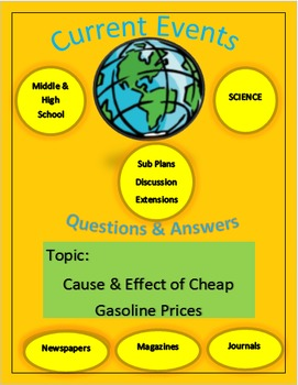 Captain Planet presents - Current Events: Cause & Effect of Cheap Oil Prices