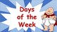 Captain Underpants Days of the Week Anchor Wall Poster Decoration