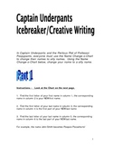 Captain Underpants IceBreaker/Creative Writing/First Days of School