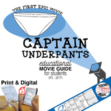 Captain Underpants: The First Epic Movie (PG - 2017) Movie Viewing Guide