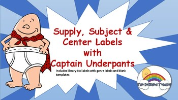 Captain Underpants Themed Décor Anchor Wall Posters