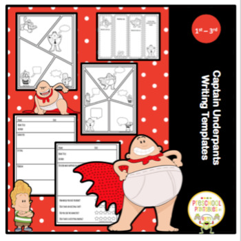 Captain Underpants Writing Templates