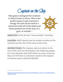 Captain on the Ship