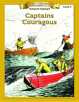 Captains Courageous 10 Chapter Novel with Student Activities and Answer Keys
