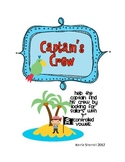 Captain's Crew - R Controlled Vowels (ar, er, ir, or, ur)