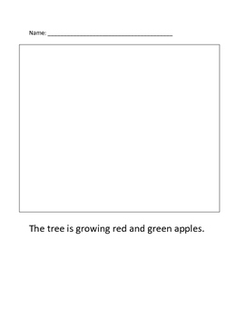 Caption/Picture Lesson Plan with Worksheets