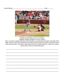 Caption Writing Activity - Sports