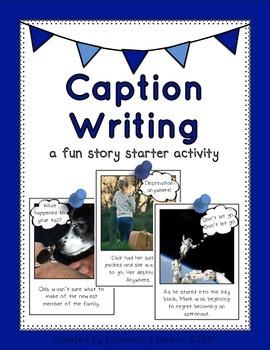 Caption Writing Story Starter Activity
