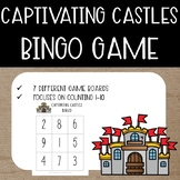 Captivating Castles Fairytale Math {Bingo Game}