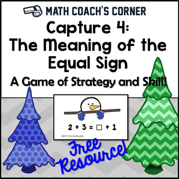 Capture 4: The Meaning of the Equal Sign