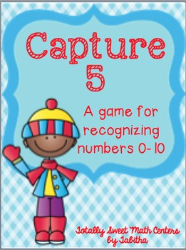 Capture 5- A game for recognizing numbers through 10