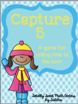 Capture 5- A game for telling time on the hour