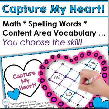 Capture My Heart K-5 Generic Gameboard