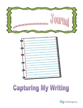 Capture My Writing - Student Writing Journal